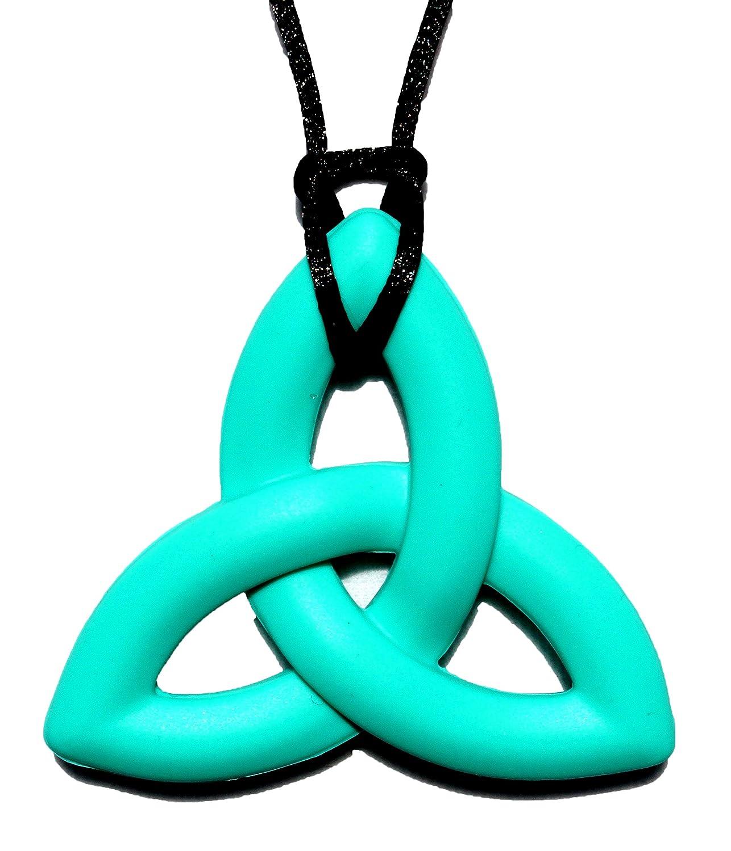 【人気商品】 Peacemaker Jewelry Jewelry Trinity Knot Silicone Teething Teething Pendant Peacemaker Necklace (Turquoise) by Peacemaker Jewelry B00JFATS6I, 半田素麺の瀧原製麺:fbc1527c --- a0267596.xsph.ru