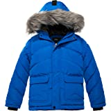 ZSHOW Boy's Hooded Puffer Jacket Thick Padded Winter Coat Windproof Parka