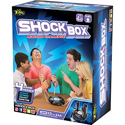 TP Toys ZG667 Shock Box Reaction Challenge, Black: Toys & Games
