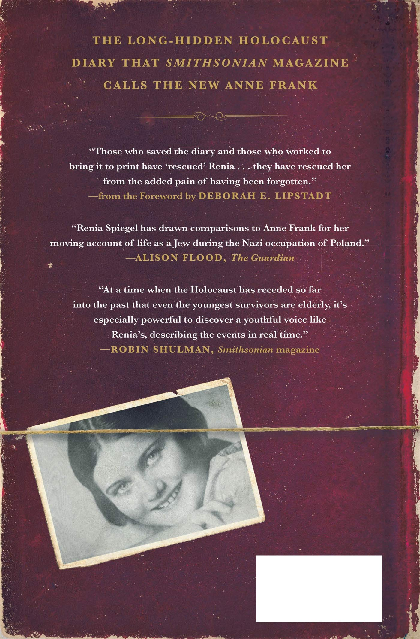 Renia S Diary A Holocaust Journal Spiegel Renia Lipstadt Deborah Bellak Elizabeth Durand Sarah 9781250244024 Amazon Com Books