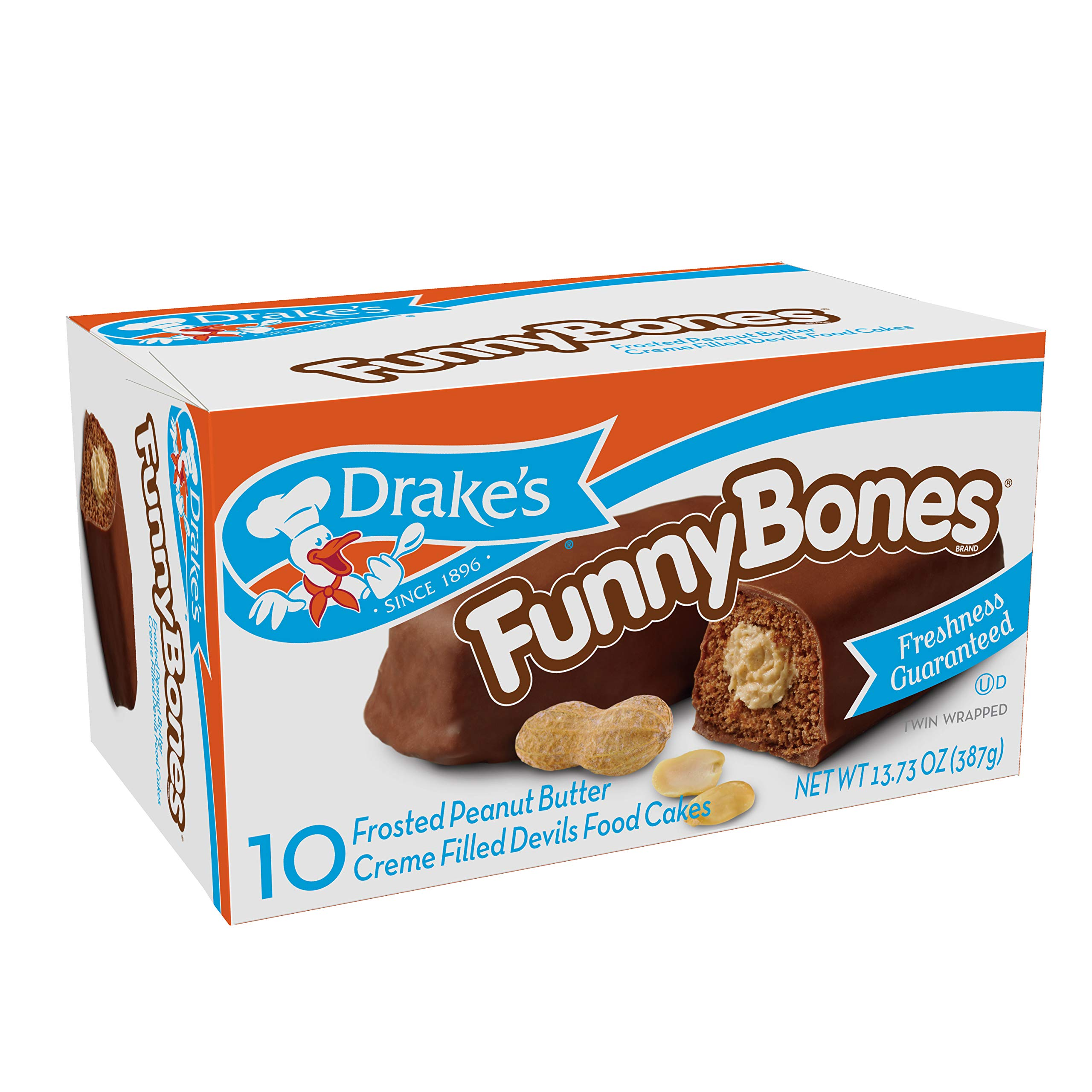 Drake's Funny Bones, 30 Count by Drake's