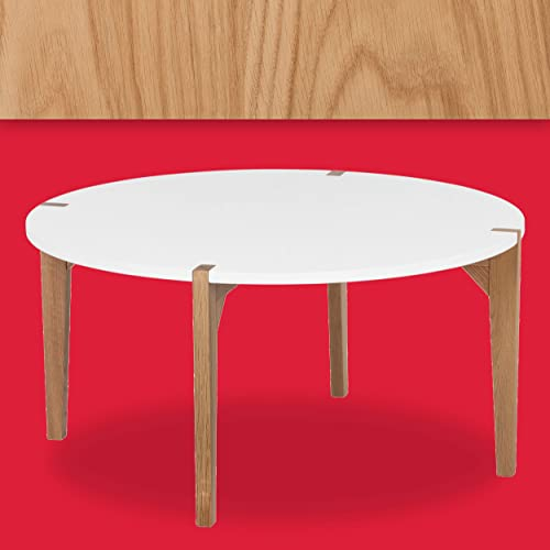 Universal Expert Abacus Round Coffee Table - the best living room table for the money