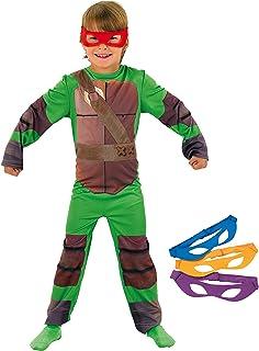 Rubies - Disfraz Tortugas Ninja para niños de 7-9 años ...