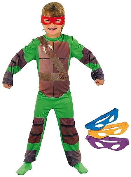 Rubies - Disfraz con diseño de Tortugas Ninja, talla S