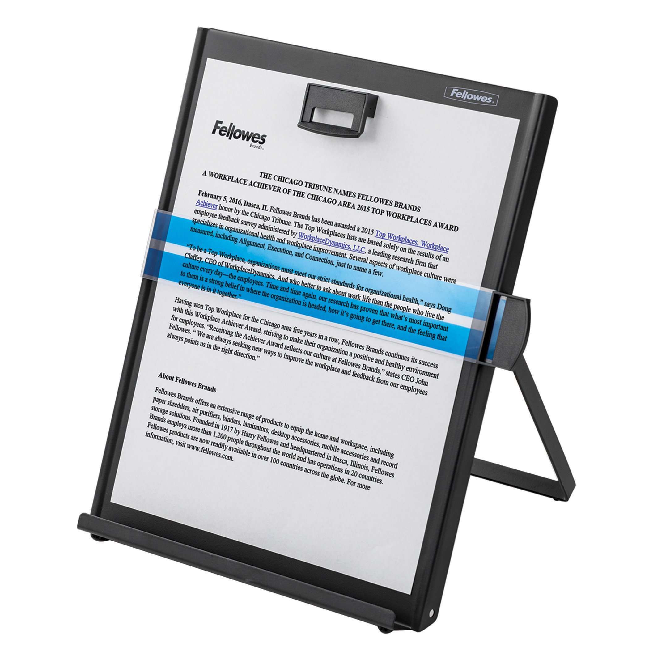 Fellowes Kopy-Aid Black Letter Copyholder (11053) by Fellowes (Image #5)