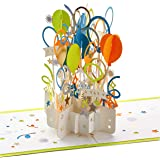 Hallmark Signature Paper Wonder Pop Up Congratulations or Birthday Card (Celebrate)