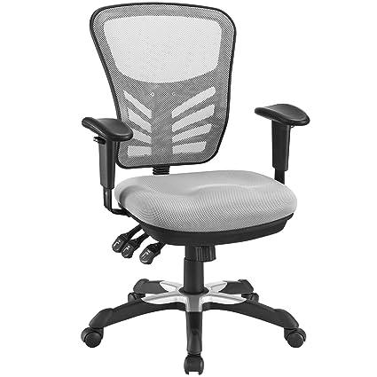 Modway Articulate Ergonomic Mesh Office Chair in Gray  sc 1 st  Amazon.com & Amazon.com: Modway Articulate Ergonomic Mesh Office Chair in Gray ...