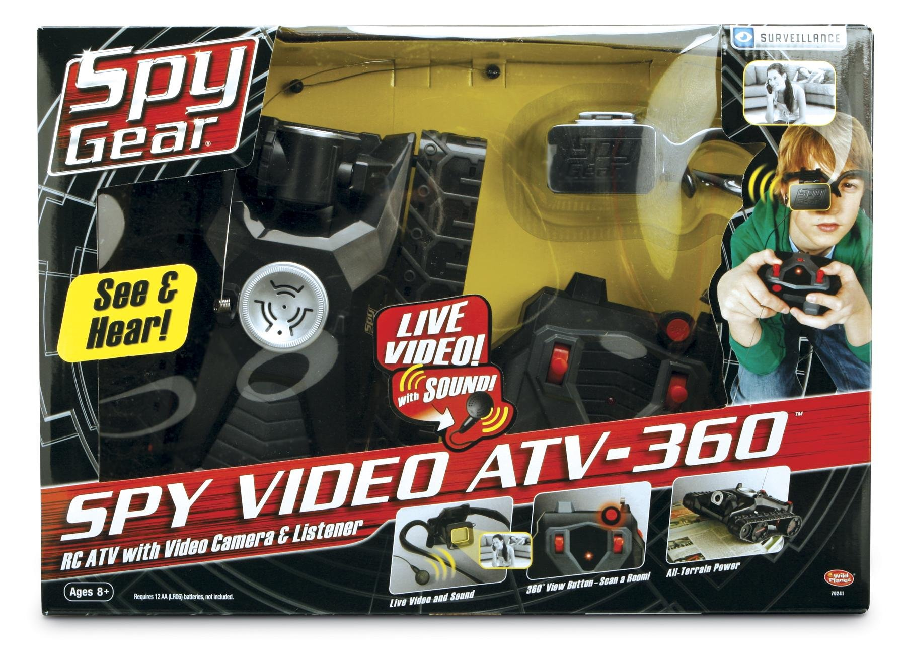 Wild Planet Spy Gear Spy Video ATV-360 by Wild Planet (Image #1)