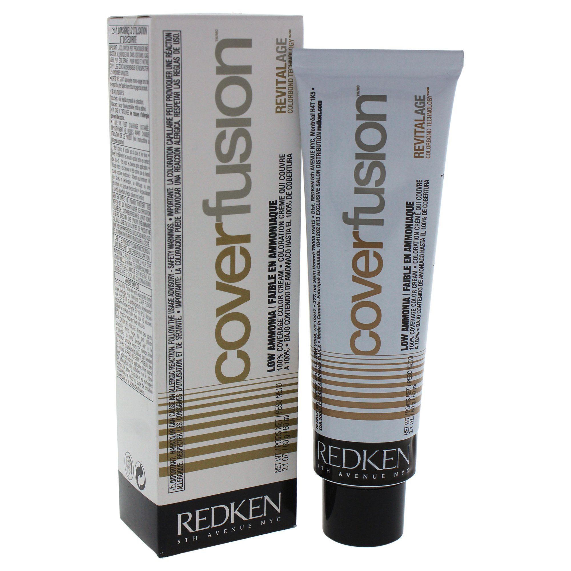 Amazon Redken Cover Fusion Low Ammonia Hair Color For Unisex