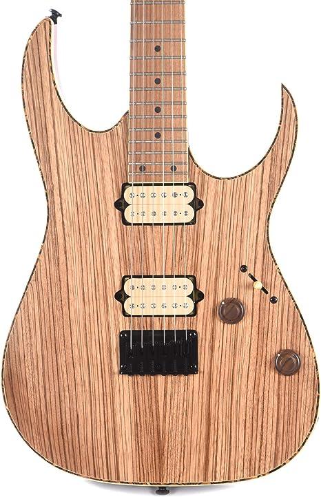 Ibanez RG Exotic RGEW521MZWNTF - Guitarra eléctrica (6 cuerdas), color natural: Amazon.es: Instrumentos musicales