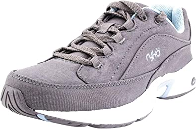Ryka Canvas_Lace-Up Walking Sneakers