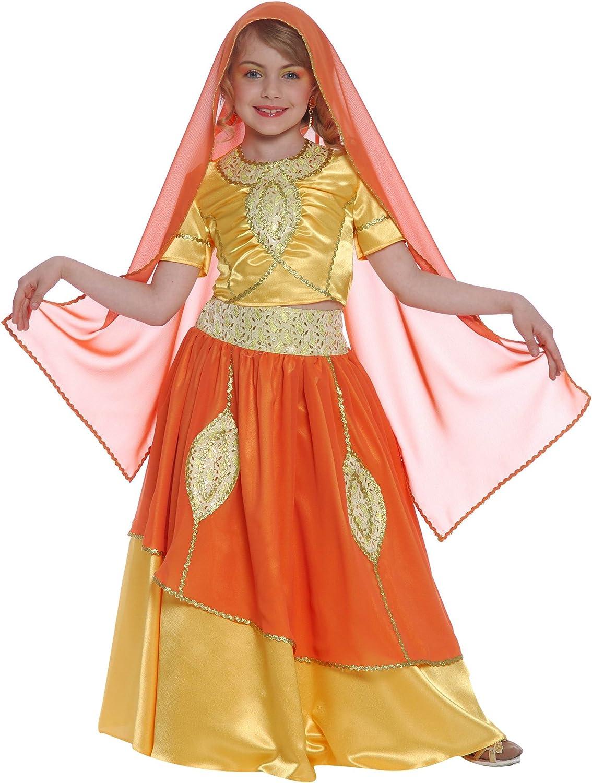 Disfraz de princesa Bollywood para niña: Amazon.es: Juguetes y juegos