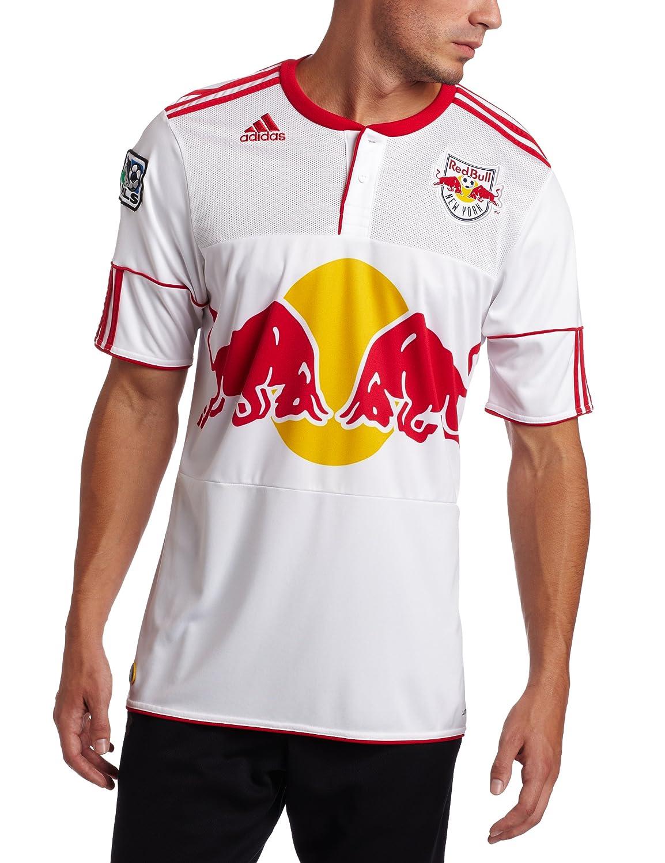 brand new b6cd4 180b5 MLS New York Red Bulls Replica Home Jersey