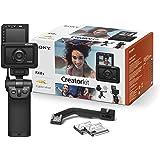 Sony RX0 II Creator Kit ultrakompakt digitalkamera (15,3 MP, 24 mm F4 tidsobjektiv, 1 tum sensor, 4K, vattentät, 180…