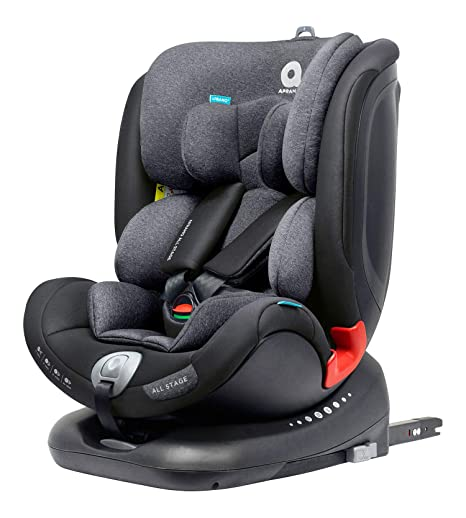 Apramo All Stage Phantom Black silla auto a contramarcha Grupos 0/1/2/3