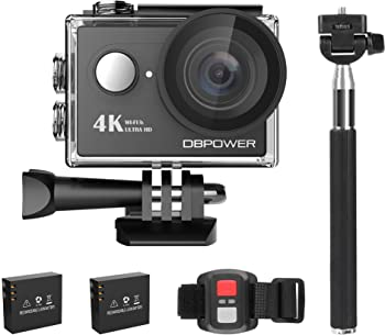 DBPOWER Q3H 4K Wi-Fi Waterproof Sport Action Video Camera Kit