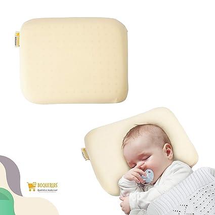 Cuscino Testa Piatta Chicco.Boquerias Cuscino Plagiocefalia Per Neonati Con Kit Di Fissaggio