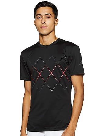 adidas Barricade - Camiseta de, Todo el año, Hombre, Color Negro ...