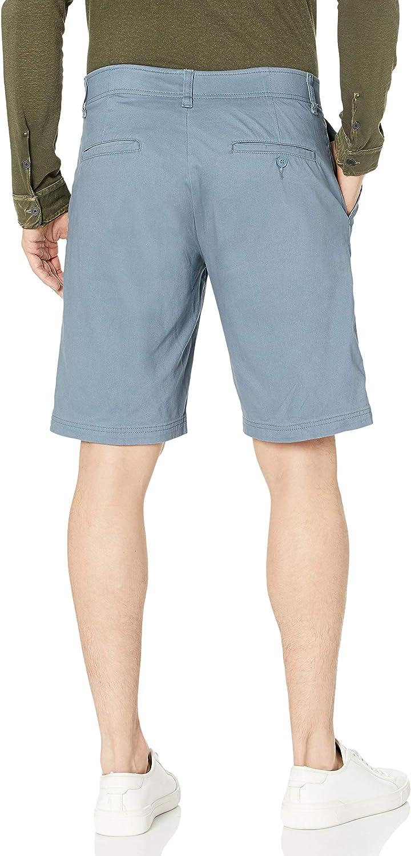 Lee Men's Flat Front Shorts Blue Mirage