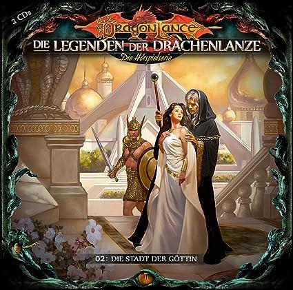 Hörbuch Cover für Die Legenden Der Drachenlanze 2: Stadt Der Göttin - David Holy: