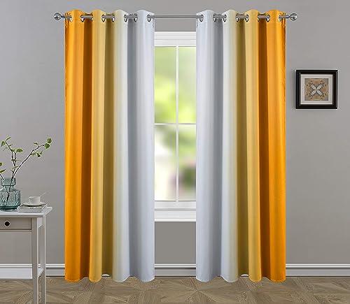 HHMY Blackout/Light Blocking Curtains