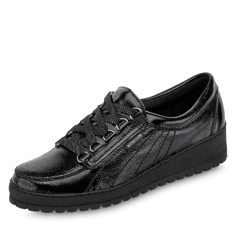 Mephisto Lady Patent Black Womens Shoes 8 UK|Black