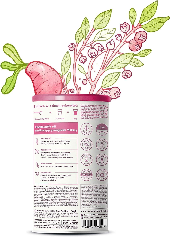 Rote Kraft - polvo para smoothie, fuerza y energía a partir ...