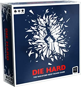 Die Hard: The Nakatomi Heist Board Game | Based on Original Die Hard Film from Fox | Custom Figures and Game Board | Featuring John McClane, Hans Gruber, and Thieves