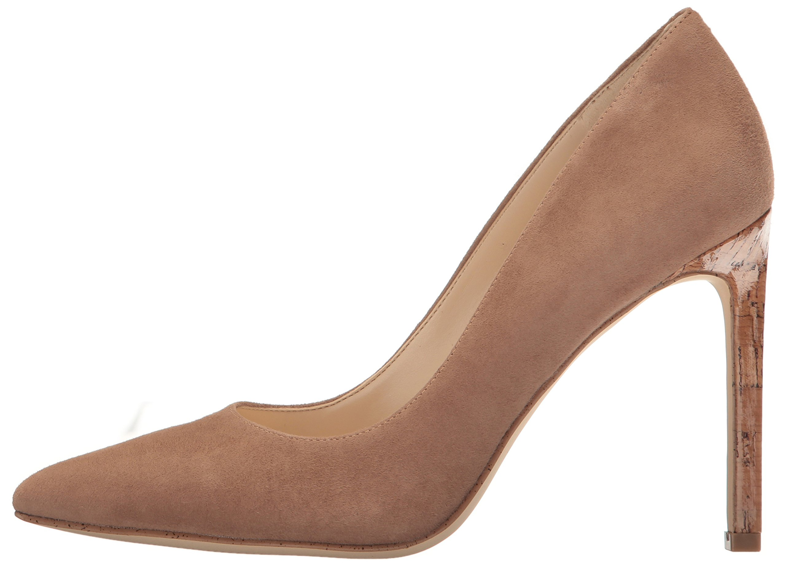 Nine West Women's Tatiana Suede Dress Pump, Dark Natural, 8 M US by Nine West (Image #5)