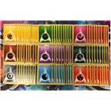 AVAILABLE! POKEMON TCG: 90 BASIC ENERGY CARDS LOT 10 OF EACH TYPE FAIRY METAL DARKNESS