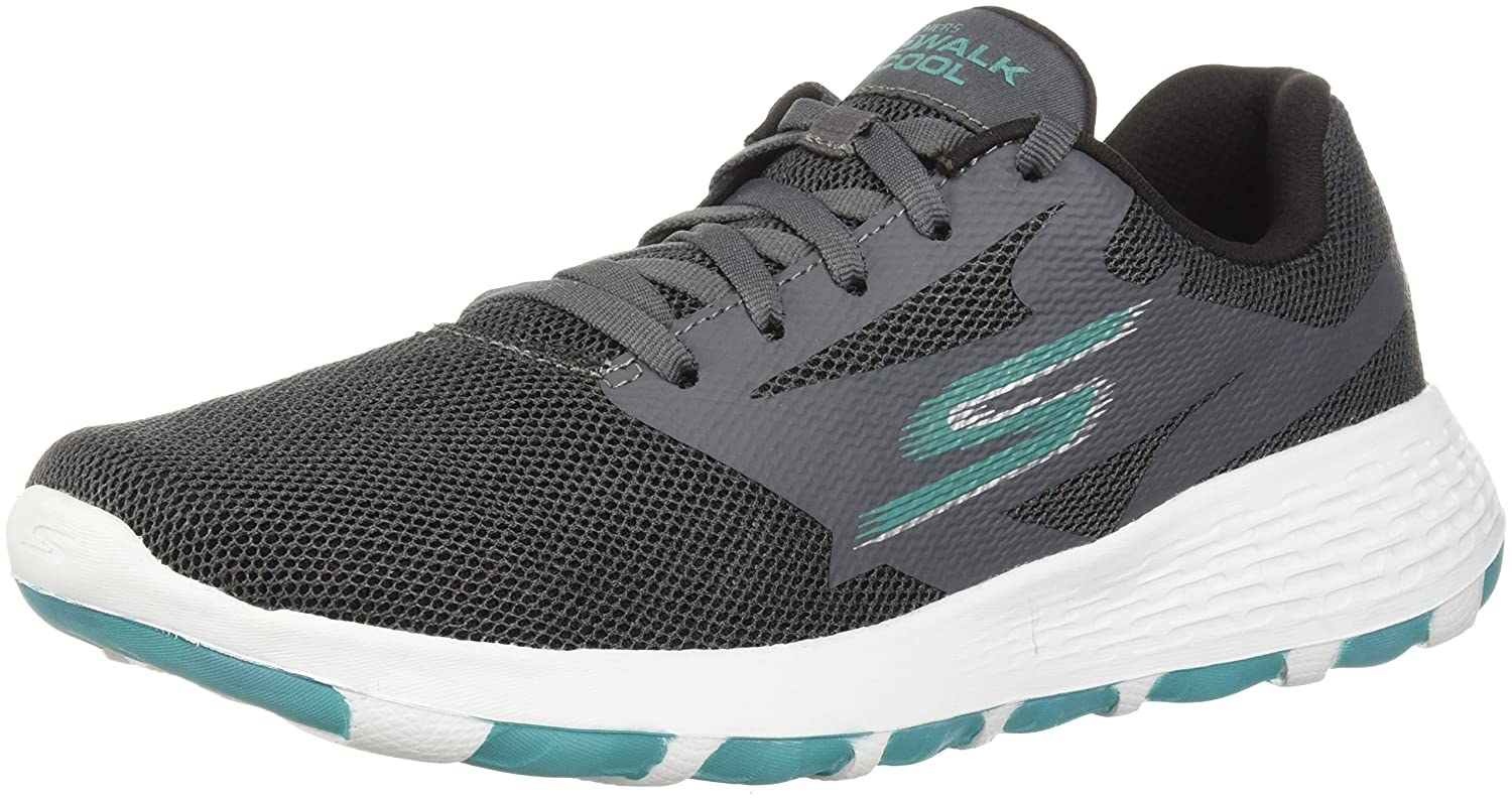 Skechers Performance Woherren Go Walk Cool-15651 Turnschuhe Charcoal Turquoise 7.5 M US