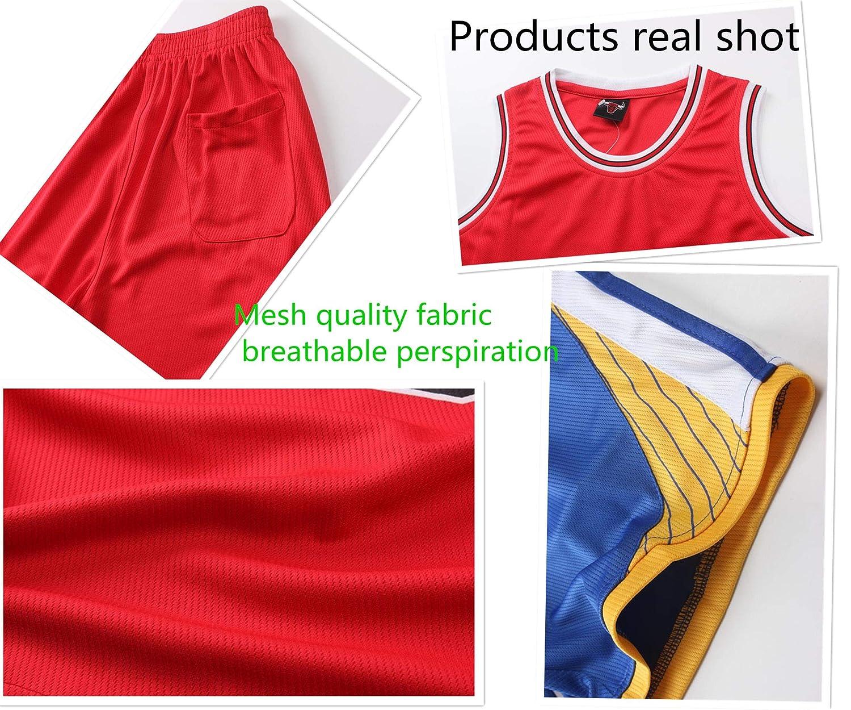 Little Boys Basketball Jersey 2-Piece Basketball Tank Top and Shorts Set