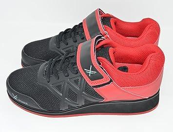X-Power - Zapatillas unisex para levantamiento de pesas, tallas 39-46, ideales para sentadillas, peso muerto, halterofilia: Amazon.es: Deportes y aire libre