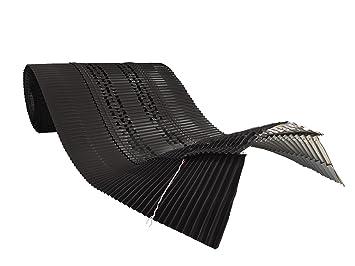 Duroflex ventilación color negro 29X500 cm: Amazon.es: Bricolaje y herramientas