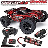 Rustler 4X4: 1/10-scale 4WD Stadium Truck (RED) - Brushed