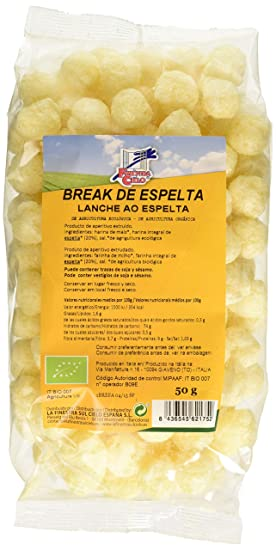 La Finestra Sul Cielo Snack Ligero y Crujiente Hecho con Espelta - Paquete de 12 x
