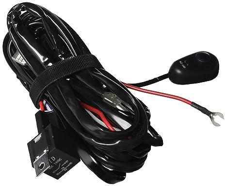 Amazon.com: race sport universal light bar wire harness with switch