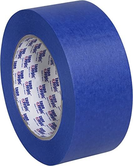 Case of 24 ROLLS BLUE Painters Masking Tape 2 Inch x 60 Yards 5.6 Mil