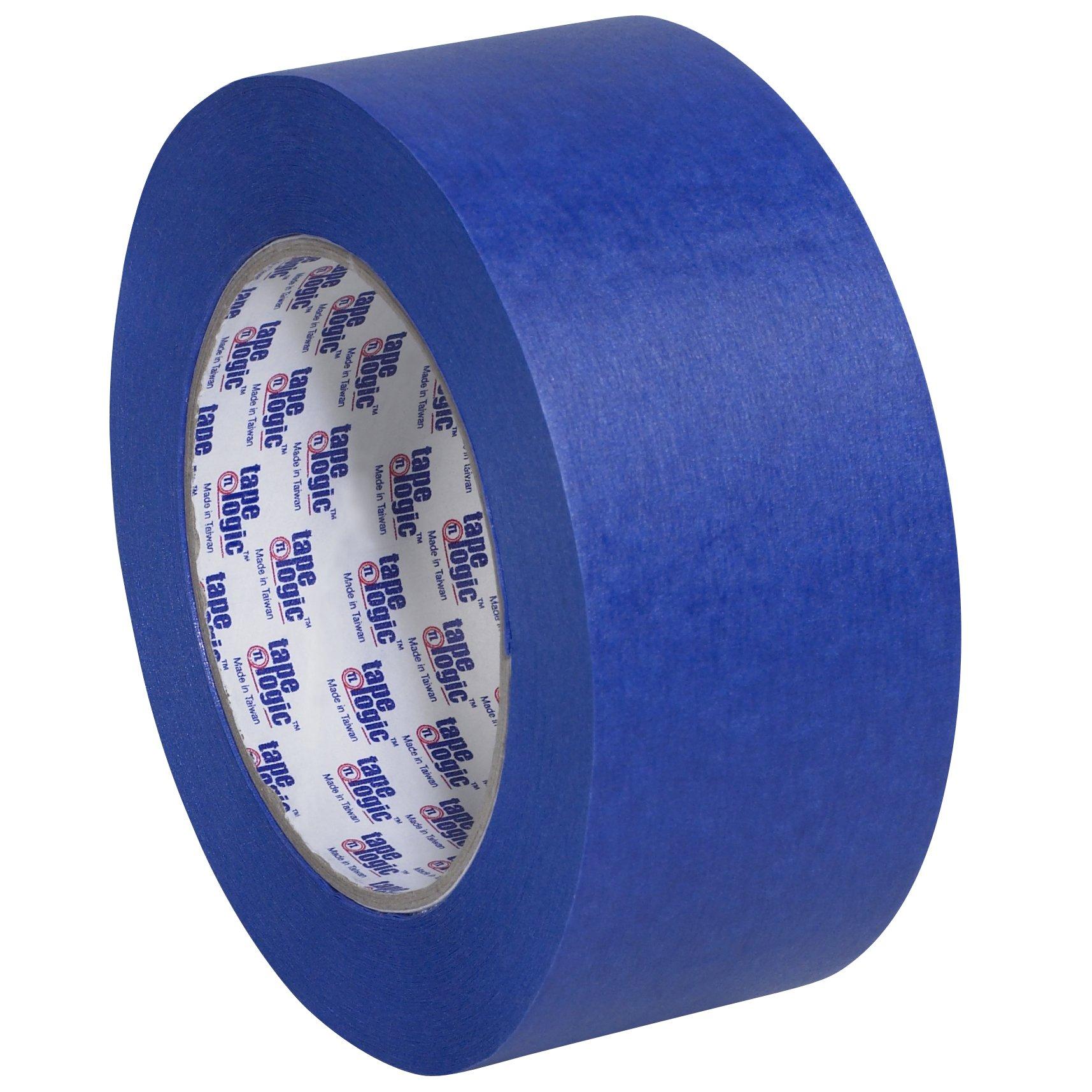 Tape Logic T937300012PK Painter's Tape, 60 yds Length x 2'' Width, Blue (Case of 12) by Tape Logic