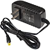 HQRP 9V AC Adapter Compatible with RCA DTA-800B1 Digital TV Converter Box GT-WACL09000100-302 Power Supply Cord [UL Listed] + Euro Plug Adapter