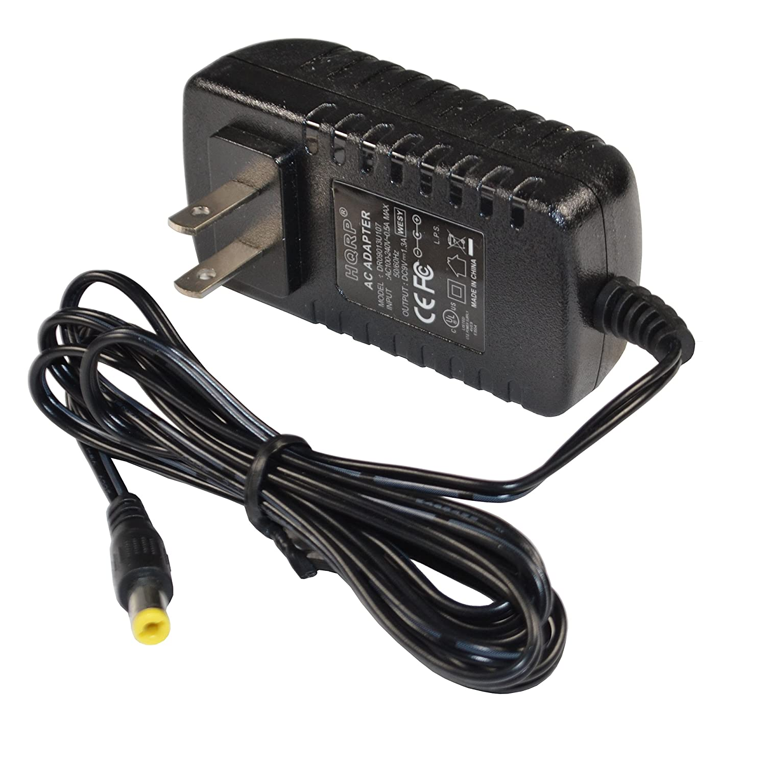 Hqrp 9v Ac Adapter For Rca Dta 800b1 Digital Tv 100 240v To Dc 1a Switching Power Supply Converter Eu Box Gt Wacl09000100 302 Cord Ul Listed Euro Plug Home Audio