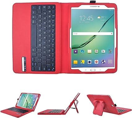 Samsung Galaxy Tab S2 9,7 (sm-t819) Bluetooth Teclado cartera ...