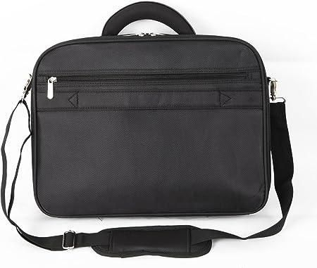 Charcoal Black//Red Bipra 15.6 inch Laptop Bag with shoulder Strap Black