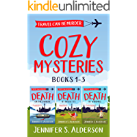 Travel Can Be Murder Cozy Mysteries: Books 1-3