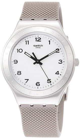 Swatch Reloj Analógico para Mujer de Cuarzo con Correa en Silicona YGS138