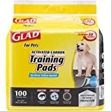 Glad for Pets Black Charcoal Puppy Pads-New & Improved Puppy Potty Training Pads That ABSORB & NEUTRALIZE Urine Instantly-Tra