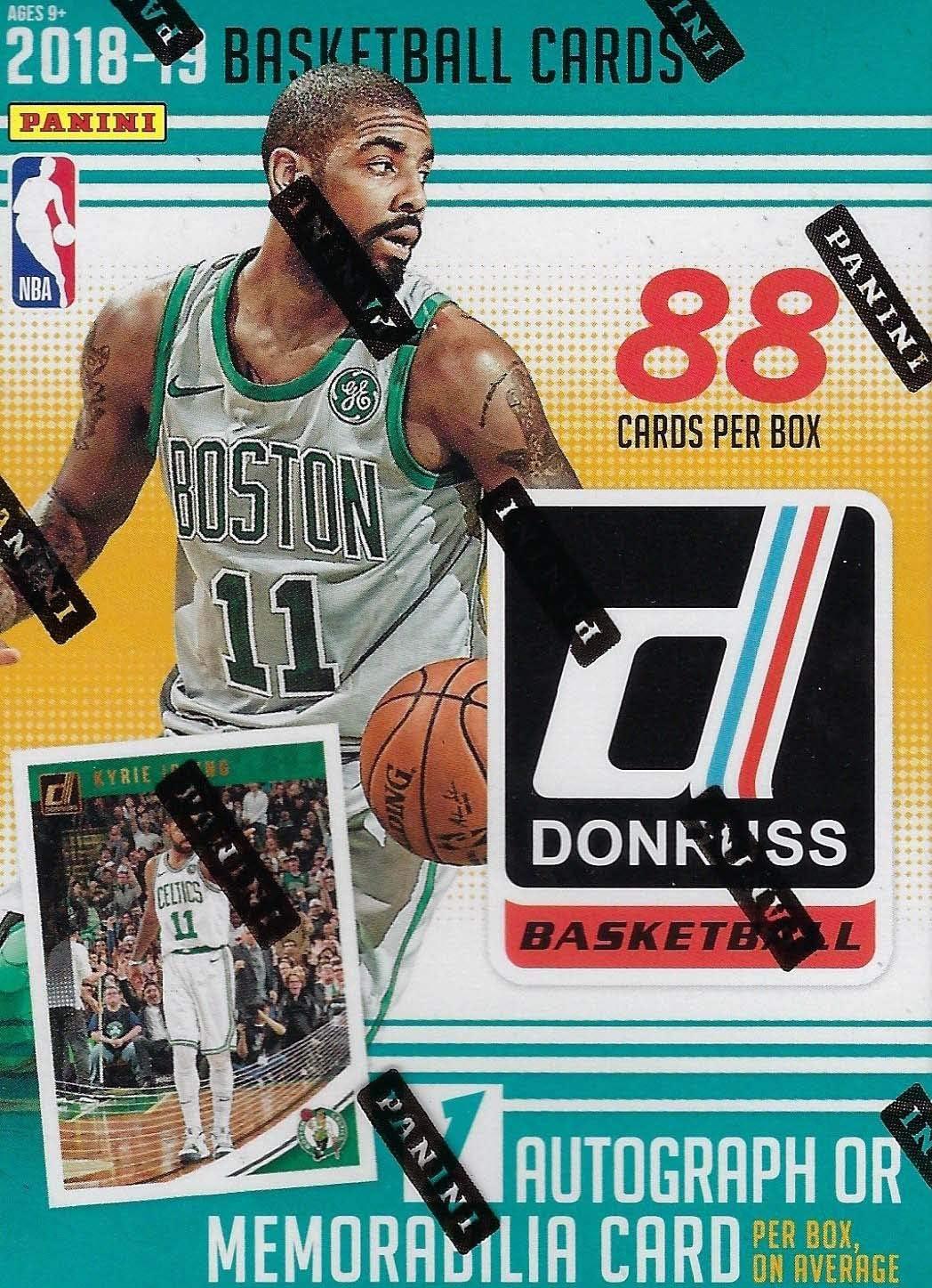 2018 2019 Donruss NBA caja de baloncesto con una tarjeta de ...