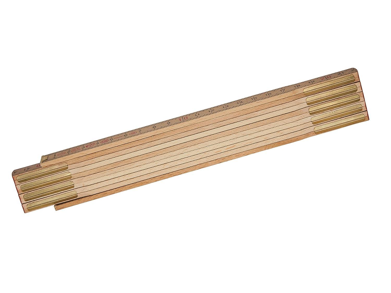STANLEY 0-35-455 Metro plegable de madera 2m