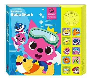 PINKFONG Libro de bebé tiburón Sonido para niños: Amazon