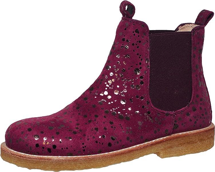 Angulus Chelsea Girls Bordeaux Boot